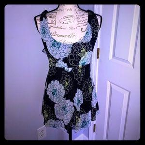 Women's dressy floral tank top